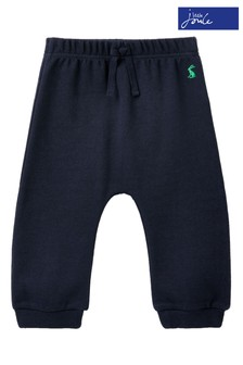 Joules Blue Merevale Rib Joggers