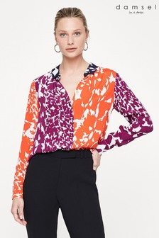 Damsel In A Dress Multi Blair Print Shirt