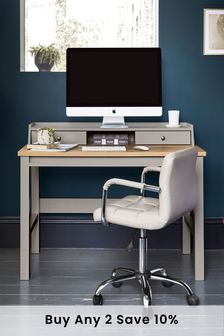 Malvern Dove Grey Desk