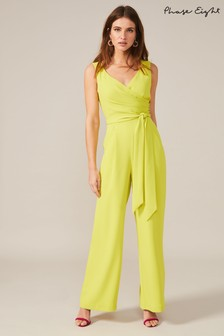 Phase Eight Yellow Fiona Jumpsuit
