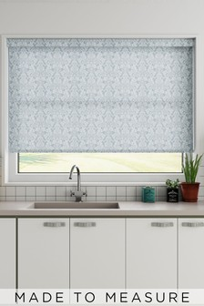 Farrell Petrol Blue Made To Measure Roller Blind