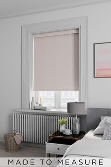 Arden Mist Pink Made To Measure Blackout Roller Blind