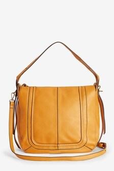 Stitch Detail Hobo Bag