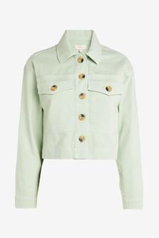 Cropped Western Jacket