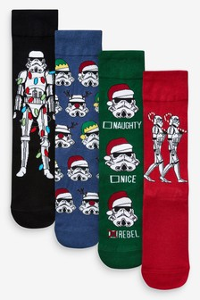 Stormtrooper Socks Four Pack