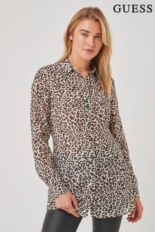 Guess Leopard Luisa Print Shirt