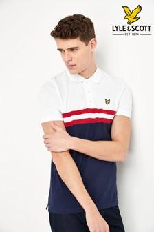 Lyle & Scott Yoke Stripe Poloshirt