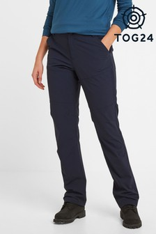 Tog 24 Womens Blue Denver Tech Regular Walking Trousers