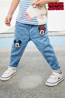 جينز مطرز™Minnie Mouse و™Mickey Mouse (3 شهور -7 سنوات)