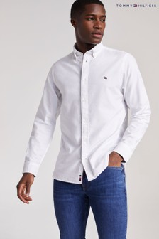 Tommy Hilfiger White Classic Oxford Shirt
