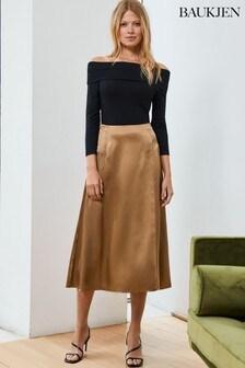 Baukjen Gold Gwen Skirt
