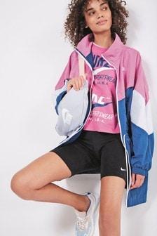 Nike JDI. DIY Woven Longline Jacket