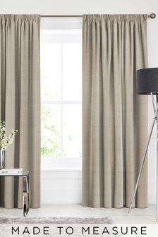 Soho Natural Made To Measure Curtains