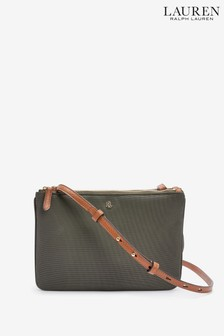 Lauren Ralph Lauren® Olive Nylon Carter Cross Body Bag