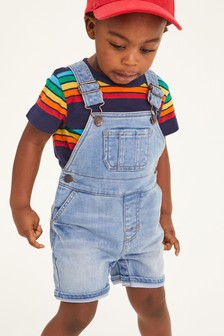 Super Soft Jersey Denim Dungarees (3mths-7yrs)