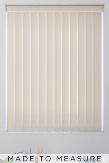 Linen Natural Made To Measure Vertical Blind