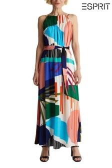 Esprit Natural Colourful Maxi Dress