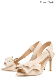 Phase Eight Cameo Allie Bow Front Peep Toe Shoe