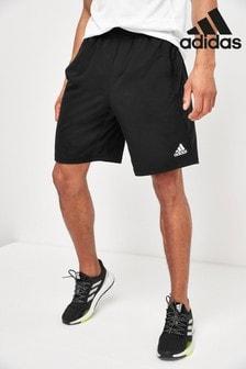 "adidas Black 4KRFT Ultimate 9"" Knit Shorts"