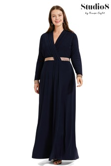 Studio 8 Blue Julietta Maxi Dress