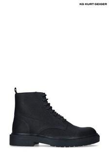 Kurt Geiger Black Paxton Boots