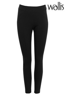 Wallis Black Ponte Leggings