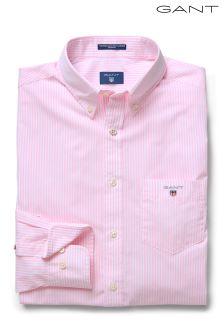 GANT Pink Broadcloth Banker Shirt