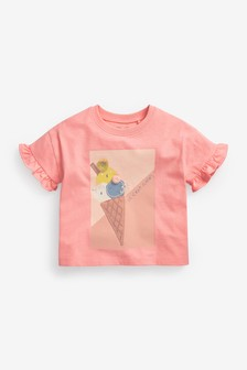 Ice Cream Interactive T-Shirt (3mths-7yrs)