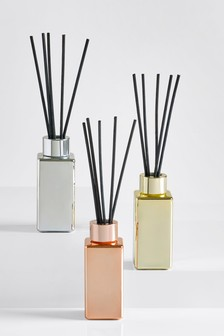 Set of 3 Metallic 40ml Diffuser