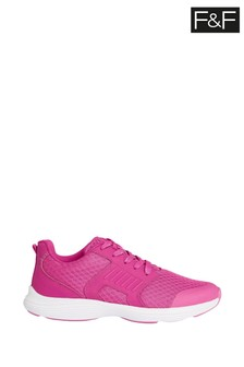 F&F Pink Older Girls Trainers