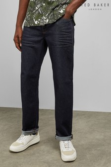 Ted Baker Oakees Original denim jeans met donkere wassing