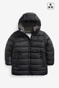 Longline Puffer Coat (3-17yrs)