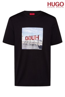 HUGO Dus Billboard Logo T-Shirt