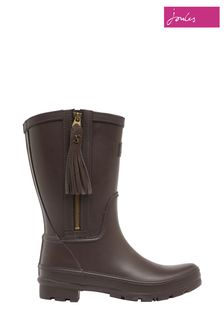 Joules Mid Height Wellies With Interchangeable Tassel