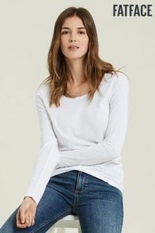 FatFace White Lilah T-Shirt