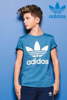 adidas Originals Blue Trefoil Tee