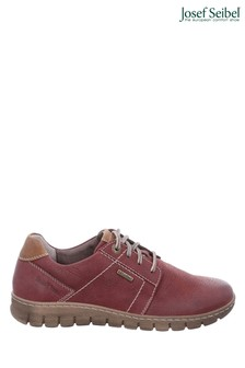 Josef Seibel Red Steffi Waterproof Lace-Up Shoes