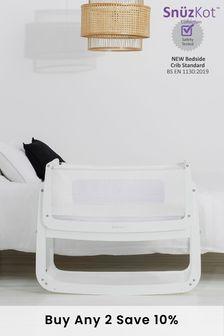 SnuzPod4 Bedside Crib White