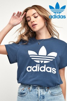 adidas Originals Navy Boyfriend Fit T-Shirt