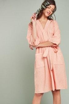 Linen Blend Robe