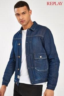 Replay® Dark Wash Denim Jacket