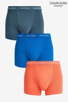 Calvin Klein Cotton Stretch Trunks Three Pack