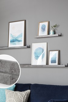 Set of 3 Picture Shelves