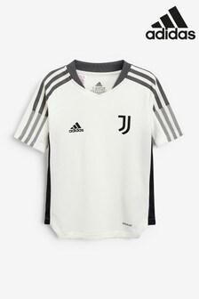 adidas White Juventus Kids Training T-Shirt