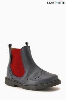 Коричневые кожаные ботинки Start-Rite Digby