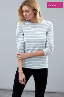 Joules Grey Harbour Long Sleeve Jersey Top