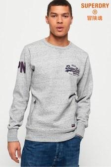 Superdry Vintage Logo Monochrome Crew Sweatshirt