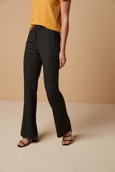 Slim Flare Fit Trousers