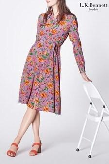 L.K.Bennett Runa Silk Dress