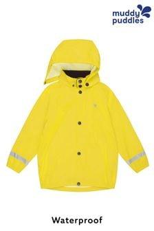 Muddy Puddles Yellow Rainy Day Waterproof Jacket